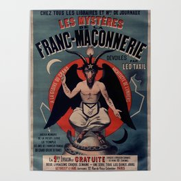 Les Mystères de la franc-maçonnerie Poster