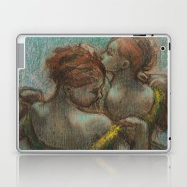 "Edgar Degas ""Two dancers - half-length"" Laptop & iPad Skin"