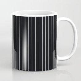 Black Linen Sterling Luna Song Pinstripe Coffee Mug