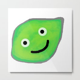 Happy Lime for a Happy Time Metal Print