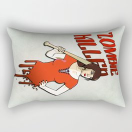 Zombie Killer Rectangular Pillow