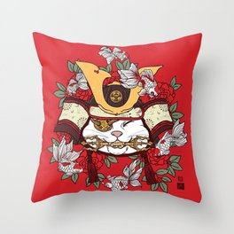 Bountiful Catch Throw Pillow