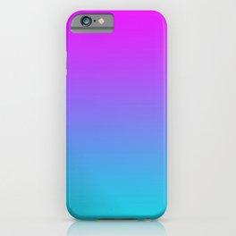 Retro Pink Gradients iPhone Case