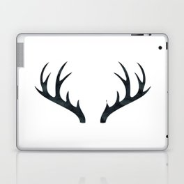Antlers Black and White Laptop & iPad Skin
