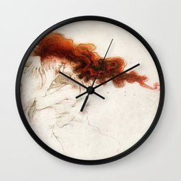 Fire&Gasoline Wall Clock