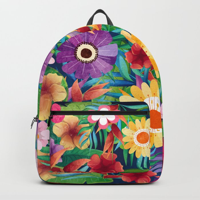 Summer Floral Dreams Backpack