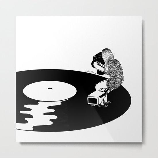 Don't Just Listen, Feel It Metal Print