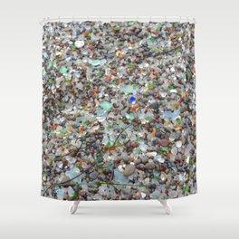 glass beach #2 Shower Curtain
