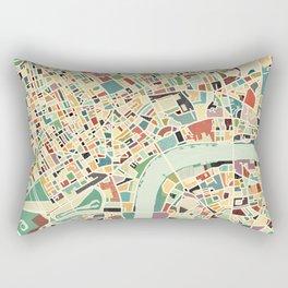 CITY OF LONDON MAP ART 01 Rectangular Pillow