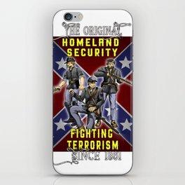 The Original Homeland Security 1861 Ed. iPhone Skin