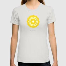 Positano, Italy Umbrella - Yellow T-shirt