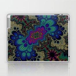 Peacock Fractal Laptop & iPad Skin