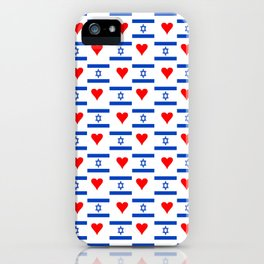 flag of israel 14-יִשְׂרָאֵל ,israeli,Herzl,Jerusalem,Hebrew,Judaism,jew,David,Salomon. iPhone Case