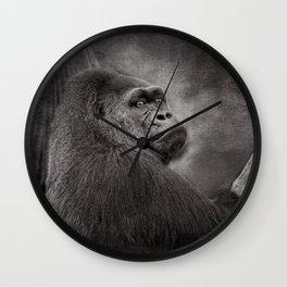 Gorilla. Silverback. BN Wall Clock