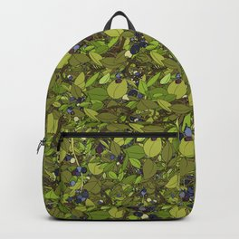 Blueberry Bushes Backpack
