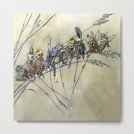 """""""Bother the Gnat Audience"""" by A Duncan Carse Metal Print"""