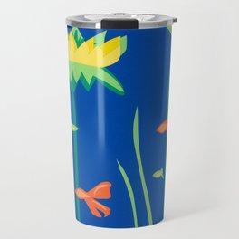 Shallows with Dragonfly Travel Mug