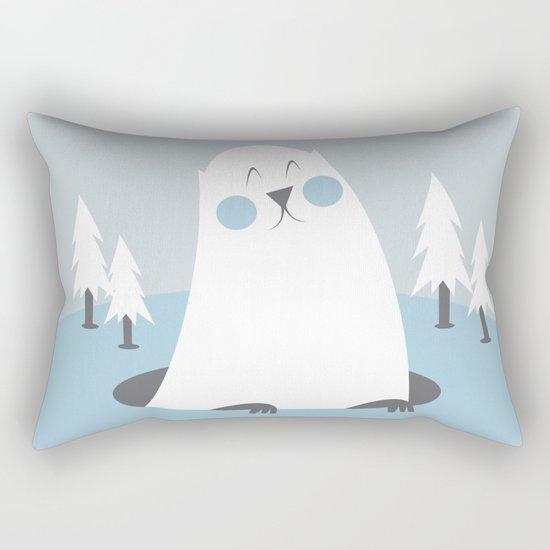 Groundhog Rectangular Pillow