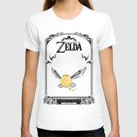 legend of zelda T-shirts featuring Zelda legend - Navi by Art & Be