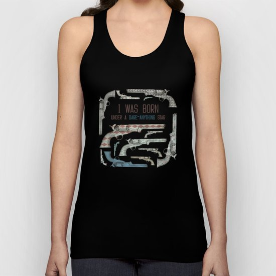 My vintage collection of pistols Unisex Tank Top