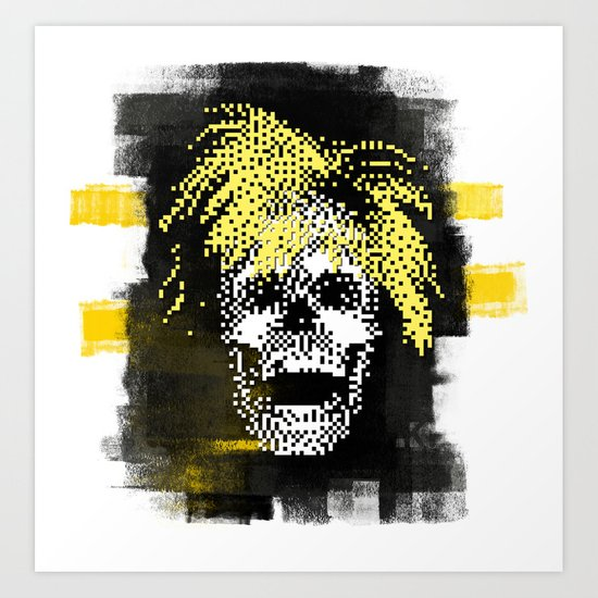Andy POSTportrait Art Print