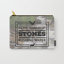 Rushing Water Carry-All Pouch