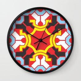 Circle colorful Wall Clock