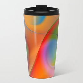 a towel full of colors Travel Mug