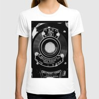vintage camera T-shirts featuring Vintage Camera by Mark Alder