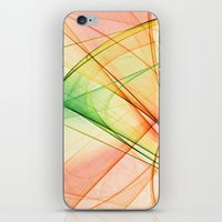 tequila iPhone & iPod Skins featuring tequila sunrise by Maureen Popdan