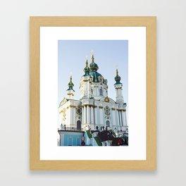 Kiev, Ukraine, Church Framed Art Print