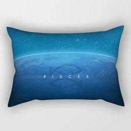 Pisces: Astrological Art Rectangular Pillow