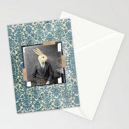 Bunny Hunter in Wonderland Stationery Cards