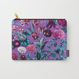 Romantic Floral Pattern Carry-All Pouch