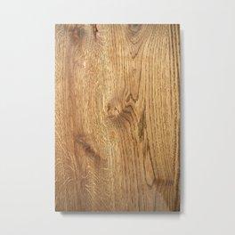 Wood Wood Metal Print