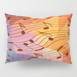Music notes III Pillow Sham