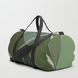 Mosaic tiled glass with a laser show Duffle Bag