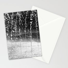 Water fountains St Johns Square Stationery Cards