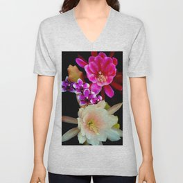 Pinkish, Pinker, And Far Out Pink Unisex V-Neck