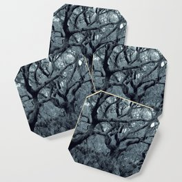 Blue grey Coaster