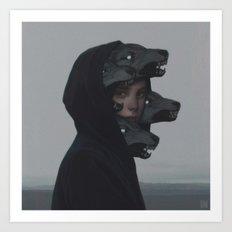 Wolf Pack Art Print
