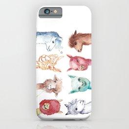 Team Alpaca iPhone Case