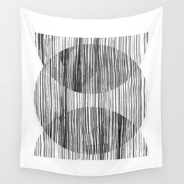 Monastery Striped Circles Wall Tapestry