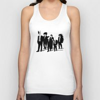 reservoir dogs Tank Tops featuring Reservoir Enemies by ddjvigo
