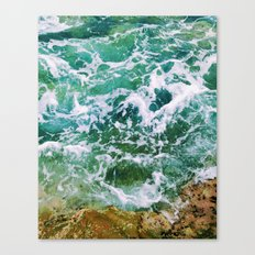 Waves pt. 4 Canvas Print