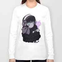 goth Long Sleeve T-shirts featuring Goth Tea by Princess Misery
