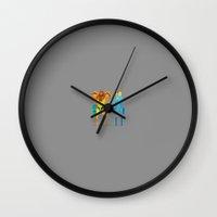 samus Wall Clocks featuring Samus by Archymedius