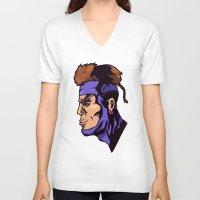xmen V-neck T-shirts featuring x23 by jason st paul
