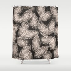 Fallen Fairy Wings - Silver Screen Edition Shower Curtain
