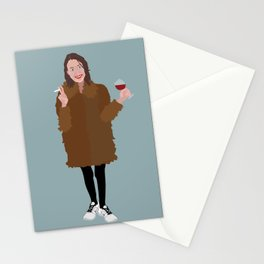 Hapy New Year, Be the best version of yourself Stationery Cards